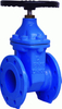 Ggg50 Worm Gear Resilient Seat Gate Valve