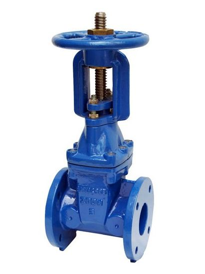 Hot Sale Ductile Iron Rubber Seal Rising Stem Gate Valve