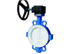 Desulfuration Wafer Type Butterfly Valve with Duplex Disc