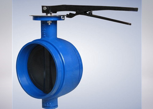 Grooved End Butterfly Valve (soft seat and Lever operator)