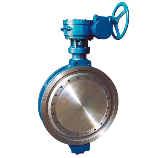 4′′ Metal Seat Cast Iron Body Wafer Type Butterfly Valve