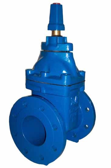 Non Rising Stem Resilient Gate Valve with Cap Top