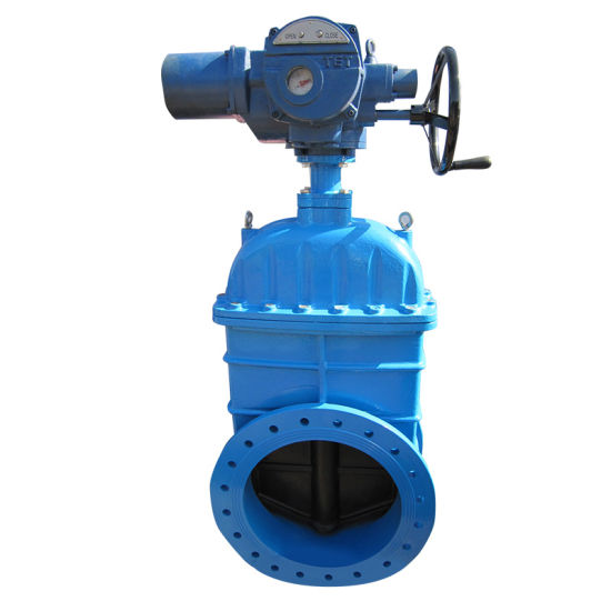 Wcb Pn16 Cast Iron Motorized Gate Valve