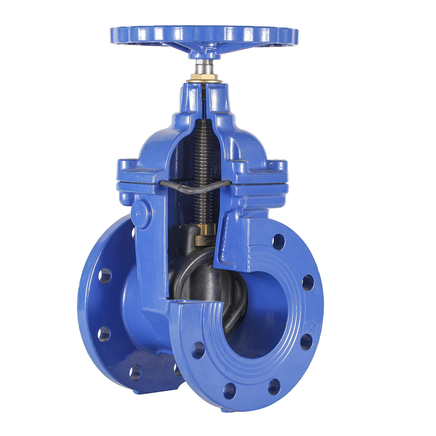 Resilient Seat Non Rising Stem Gate Valve(DIN3202 F4)