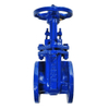 Pn10 Cast Iron Outside Stem Brass Seat Gate Valve