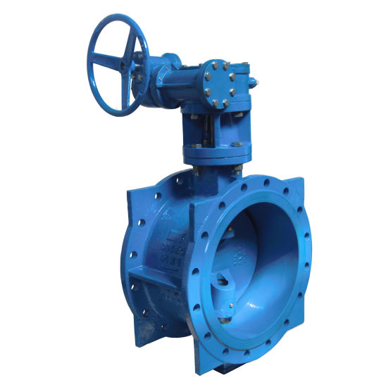 Double Flanged Soft Seal Eccentric Butterfly Valve Weight