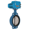 Cast Iron Wam API 598 Triple Eccentric 18 Inch EPDM Ring Seal Double Eccentric Butterfly Valve