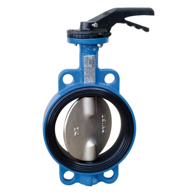 Awwa API ASTM Manual Double Half Shaft Butterfly Valve